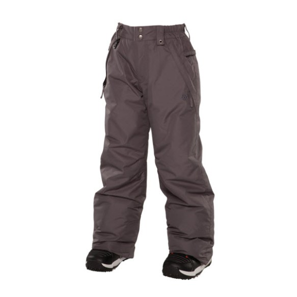 686 Mannual Brandy Girls Snowboard Pants Gunmetal Medium Sample 2014 Age 8-10
