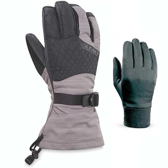 Dakine Womens Camino Gloves 2013 in Spacedye