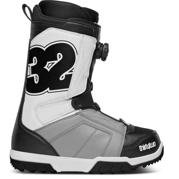 ThirtyTwo STW Boa Snowboard Boots 2014 in Black Grey White