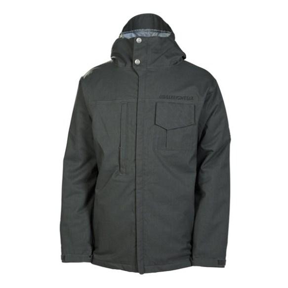 686 Mannual Legacy Mens Snowboard Jacket Gunmetal Denim New 2014