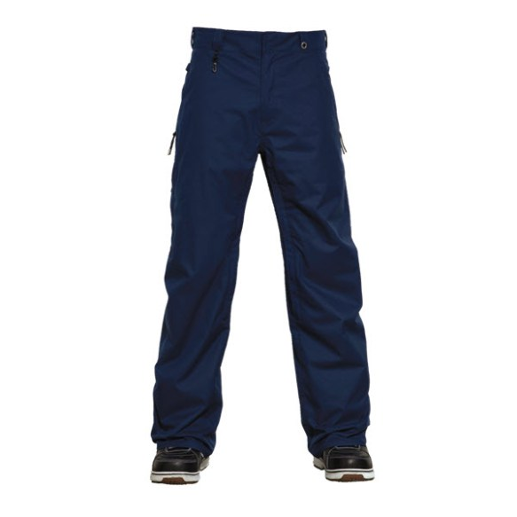 686 Dickies Work Snowboard Pants Navy Blue 2015 Large Sample