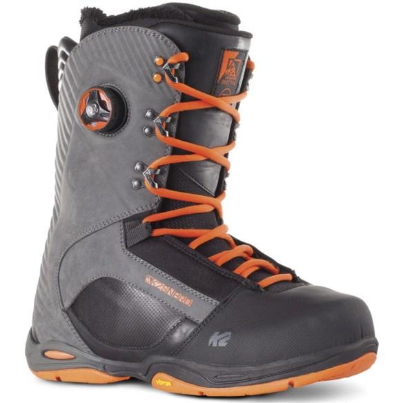 K2 T1 Mens Snowboard Boots 2015 Sample Black