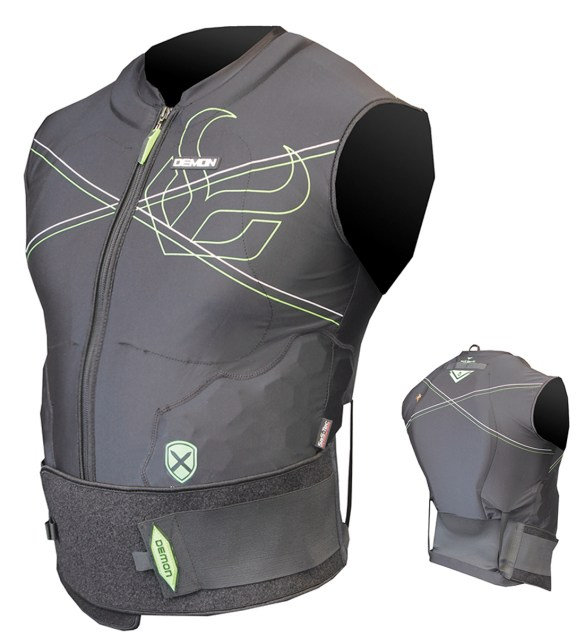 Demon X D30 Snowboard Vest Body Armor 2015 Spine guard