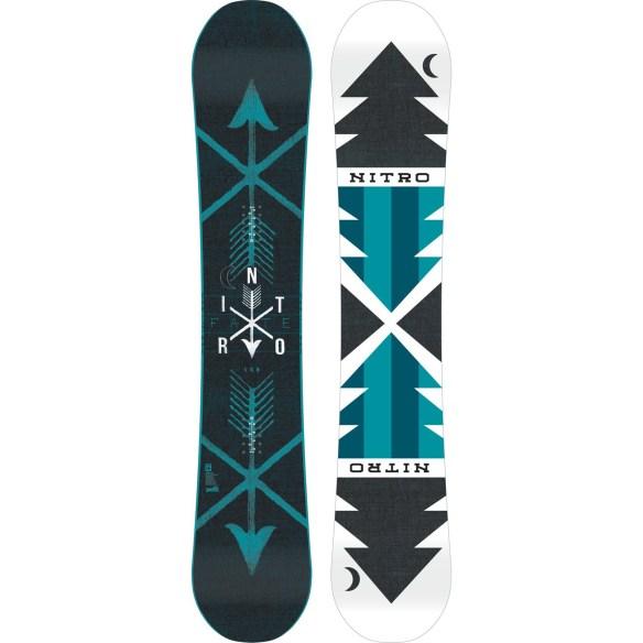 Nitro Fate Zero Womens Snowboard 2015
