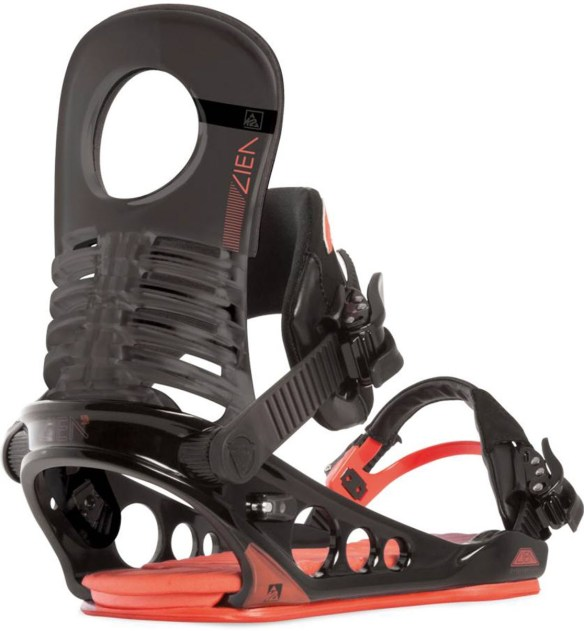 K2 Lien FS Snowboard Bindings 2015 in Black