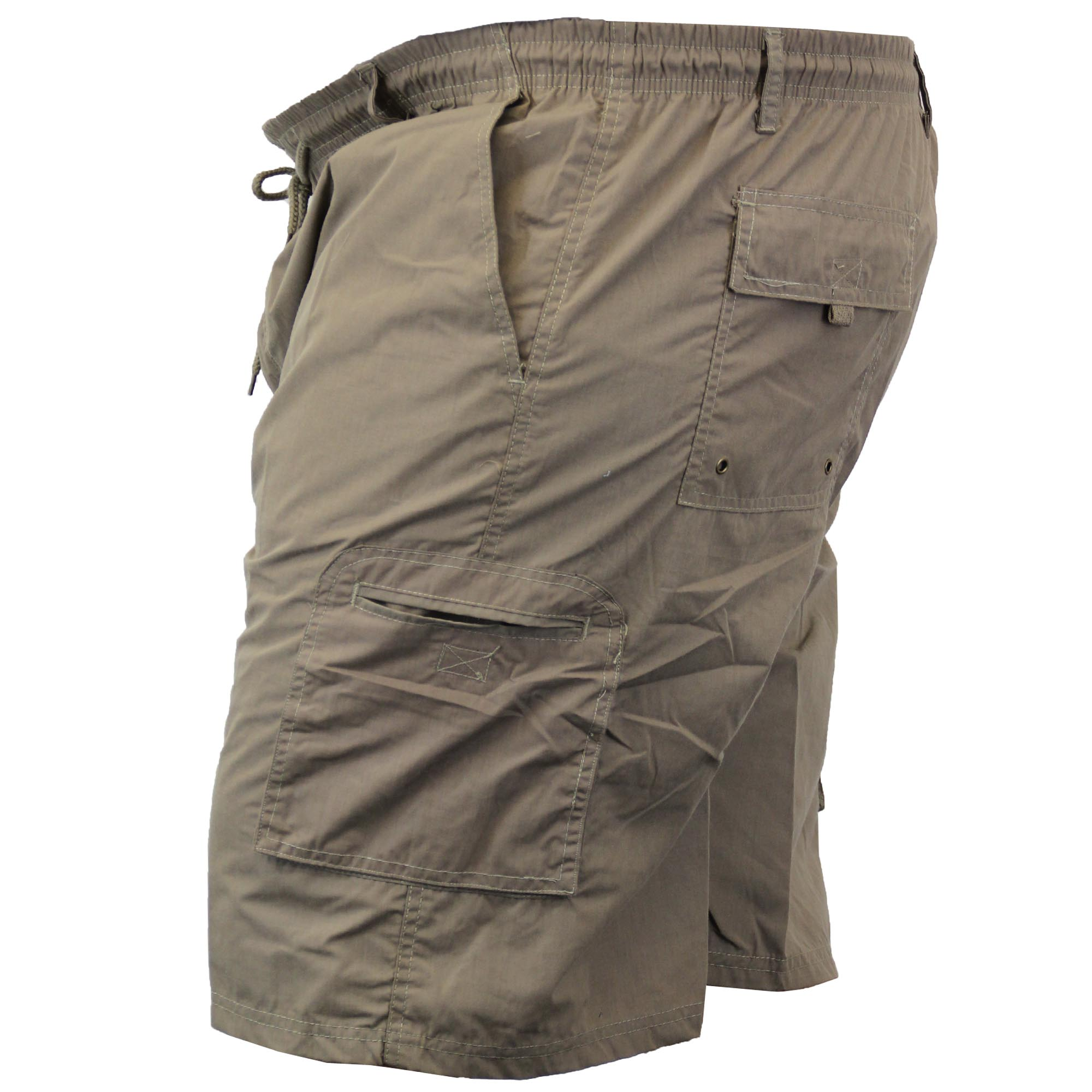 King Size Clothing Mens Cargo Combat Knee Length Big King Size Shorts By D555