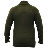 Mens Wool Mix Jumpers Threadbare Knitted Sweater Shawl ...