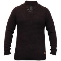 Mens Wool Mix Jumpers Threadbare Knitted Sweater Shawl ...