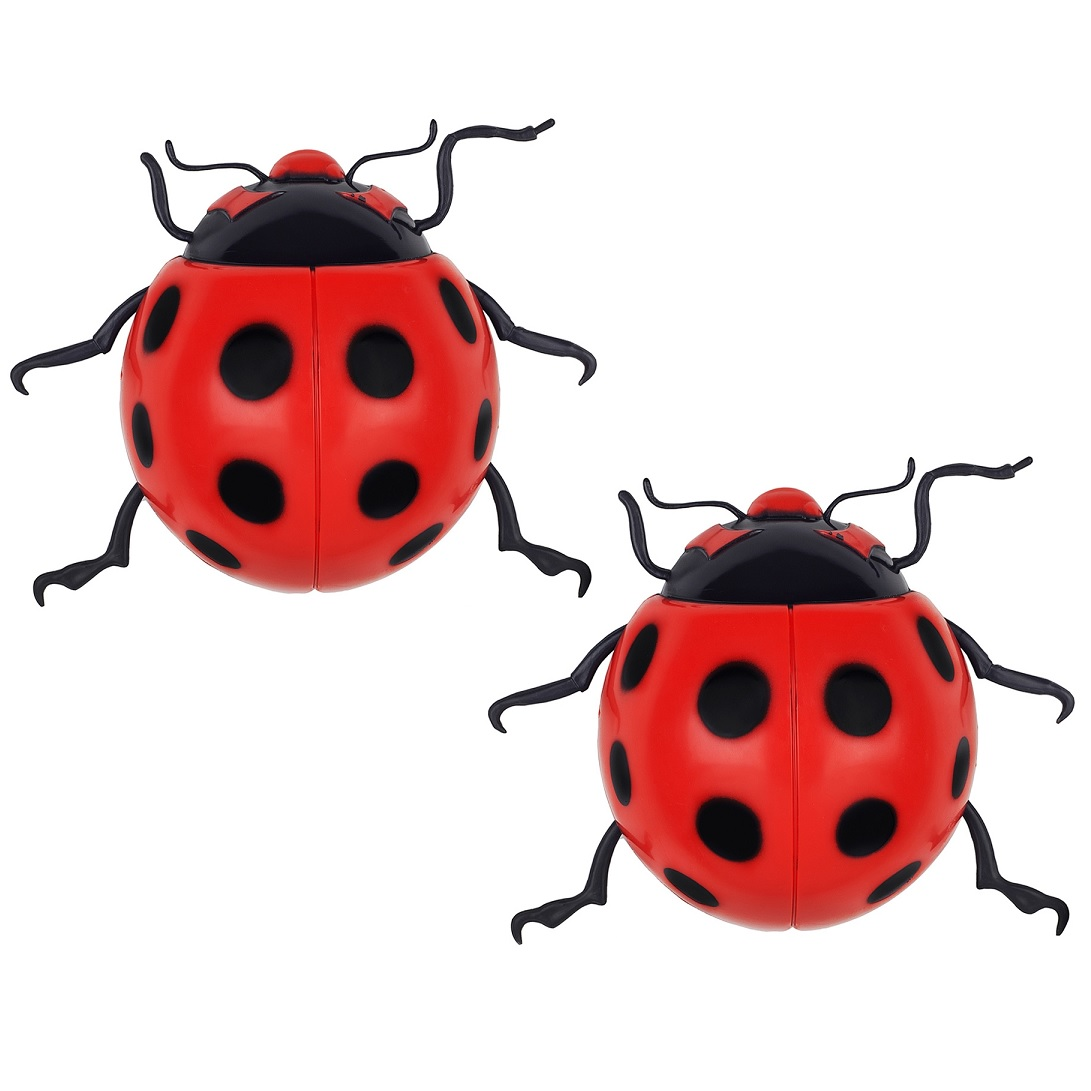 Wall Ornaments 2 X Large Ladybird Garden Wall Decorations Ornament Fence
