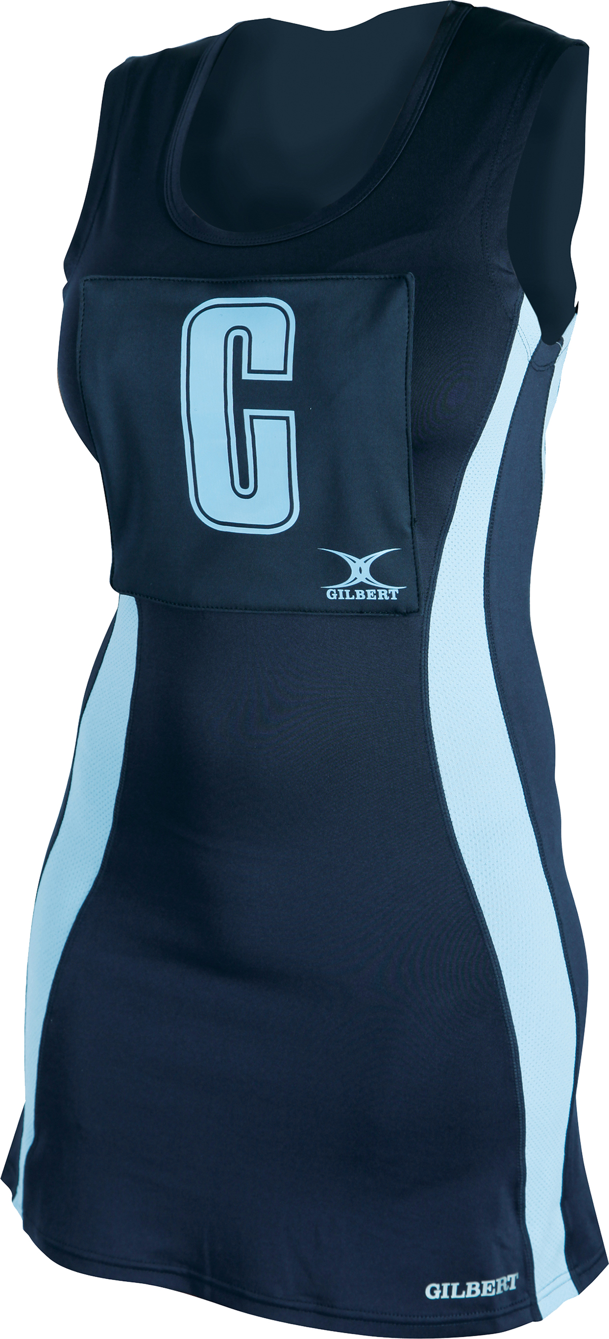 Hook Clothing Gilbert Eclipse Ii Hook And Loop Netball Dress Clothing