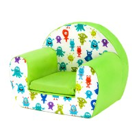Kids Children's Comfy Soft Foam Chair Toddlers Armchair ...