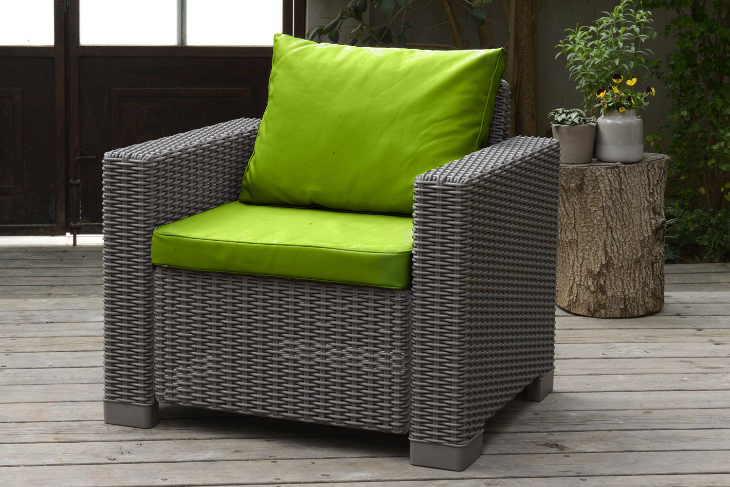 Rattan Garden Sofa Set Ebay Cushion Pads For Keter Allibert California Rattan Garden