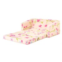 Owls Kids Flip Out 'Lily' Sofa Bed Sleep Over Fold Out ...