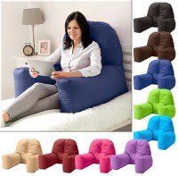 Chloe Bed Reading Bean Bag Cushion Arm Rest Back Support ...