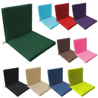 Two Part Outdoor Waterproof Seat Chair Pads Cushions ...
