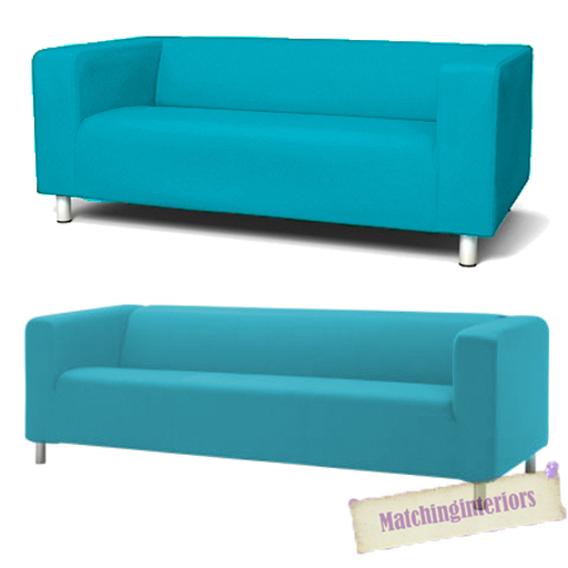 Ikea 4 Seater Sofa Aqua Cover Slipcover To Fit Ikea Klippan 2 Or 4 Seater