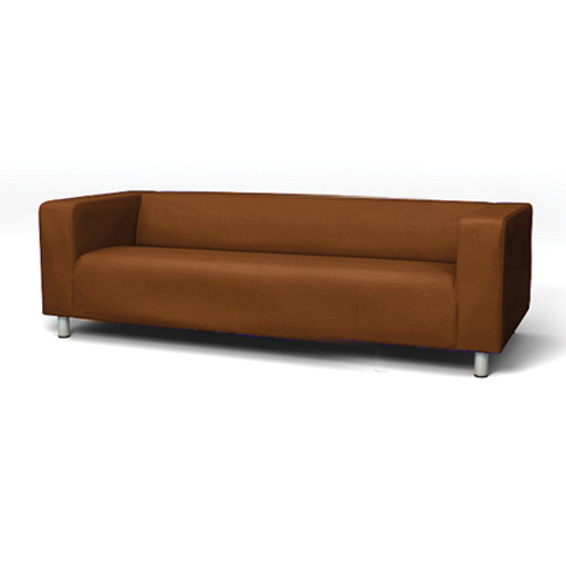 Ikea 4 Seater Sofa Slipcover For Ikea Klippan 4 Seater Sofa Cotton Twill Sofa