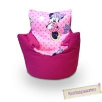 Children's Kids Character Bean Bag Chair Filled Beanbag ...