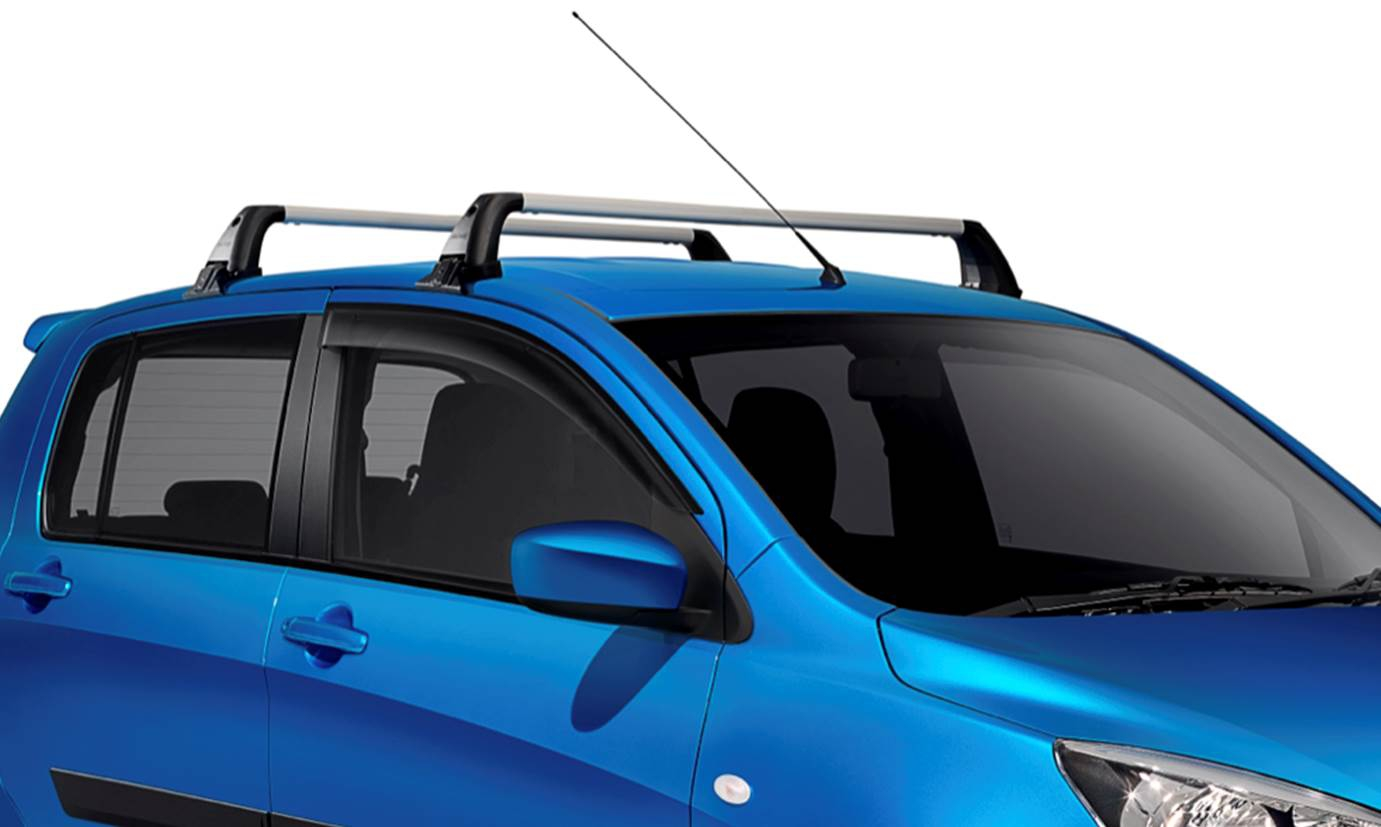 Suzuki Genuine Celerio Sz4 Lockable Roof Rack Set Bar Rail