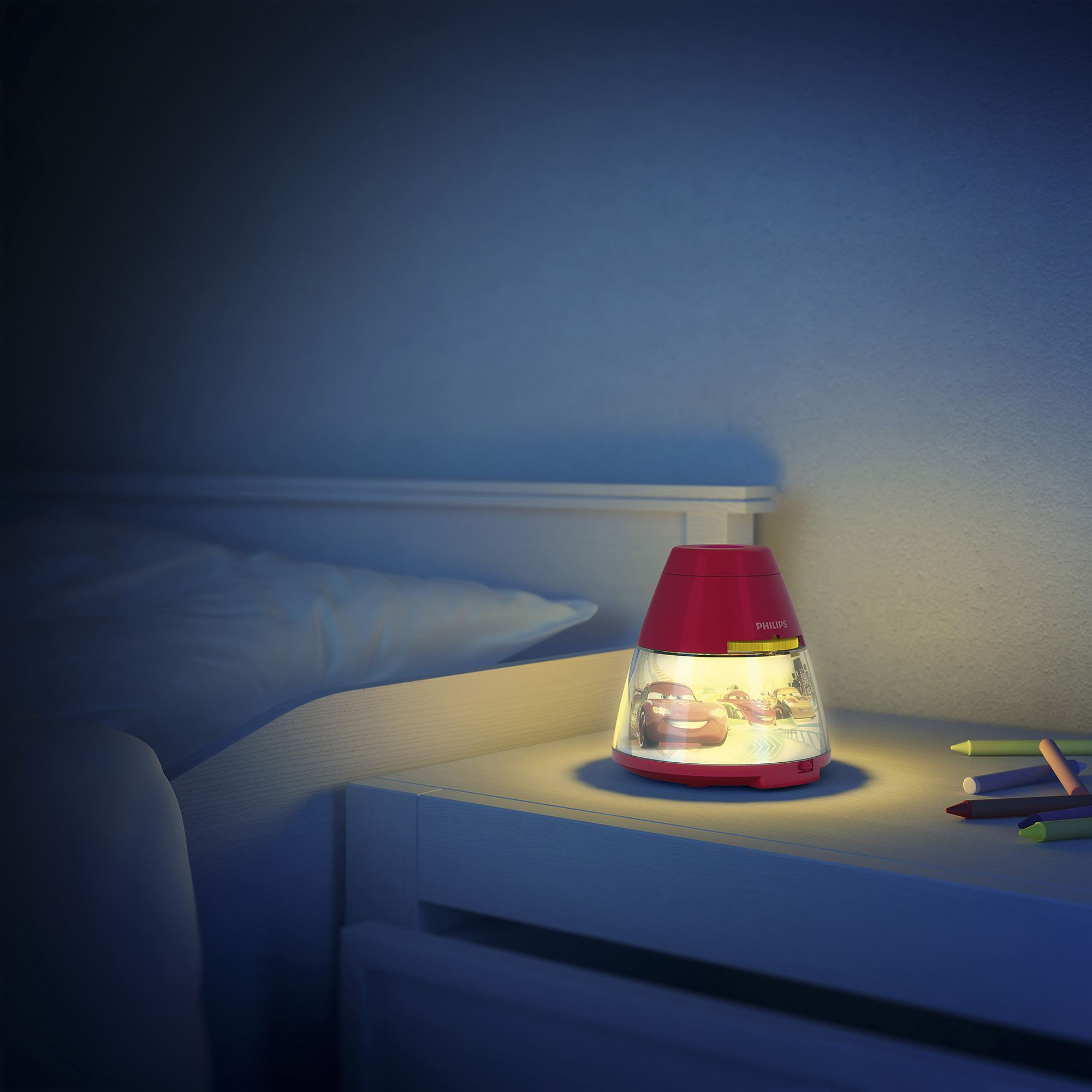 Childrens Night Light Table Lamps Philips Disney Cars Children 39s Led Night Light Projector
