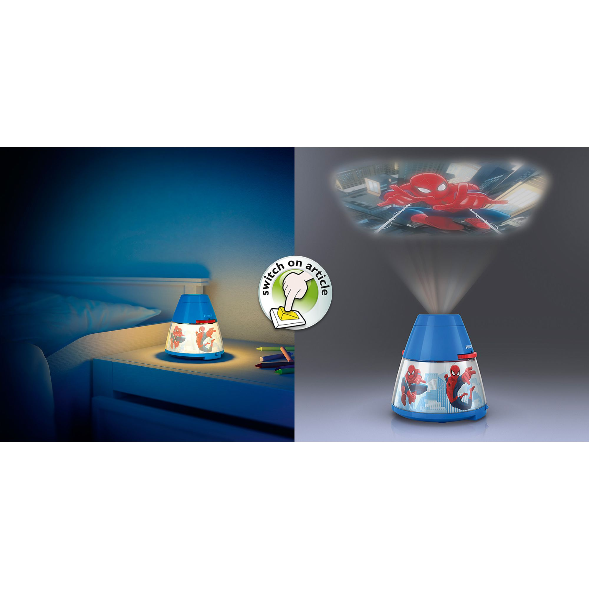 Childrens Night Light Table Lamps Philips Marvel Spiderman Children 39s Led Night Light
