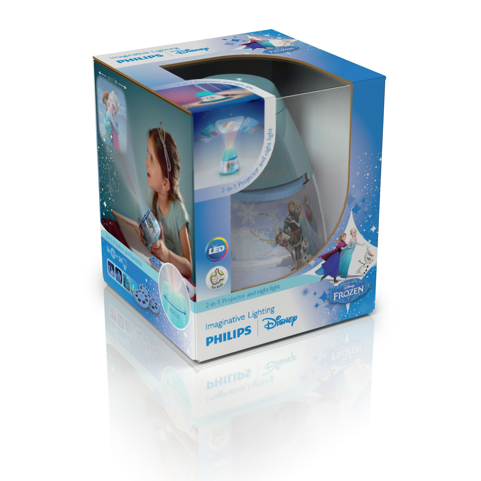 Lamp And Nightlight Philips Disney Frozen Children 39s Led Night Light Projector