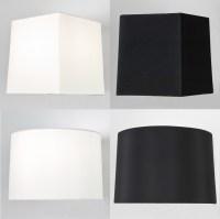 Astro Azumi Tag fabric tapered square round lampshade ...