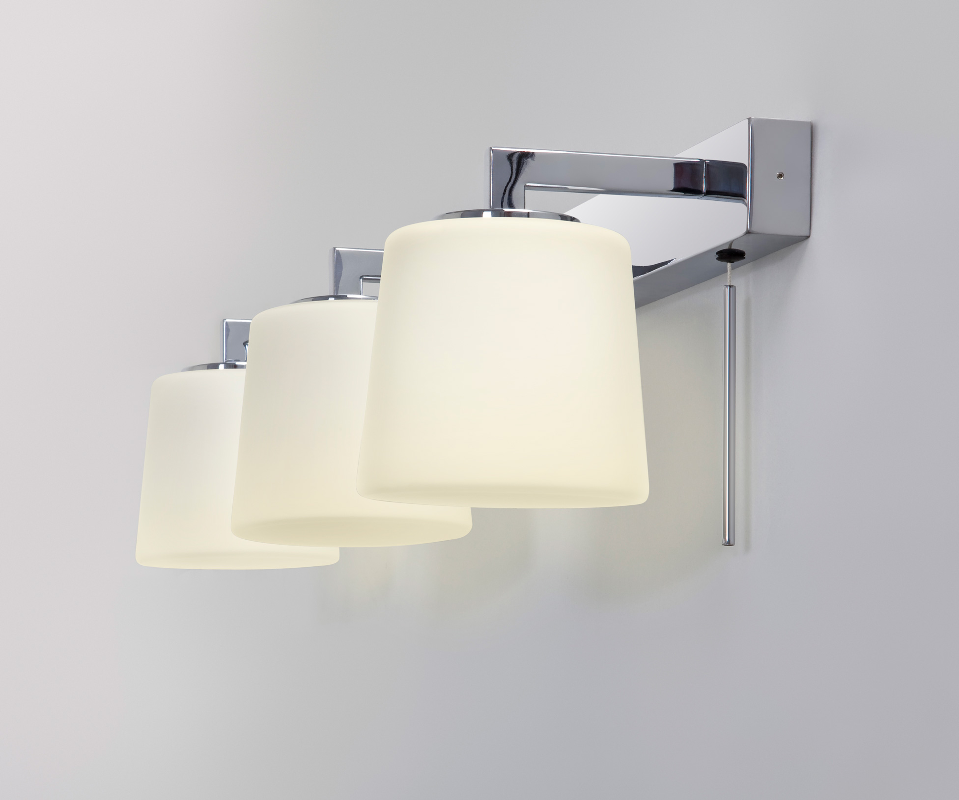 Bathroom Mirror Wall Lights Details About Astro Triplex Bathroom Mirror Wall Light 3 X 40w G9 Switch Chrome