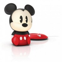 Philips Disney SoftPal Mickey Mouse LED black portable ...