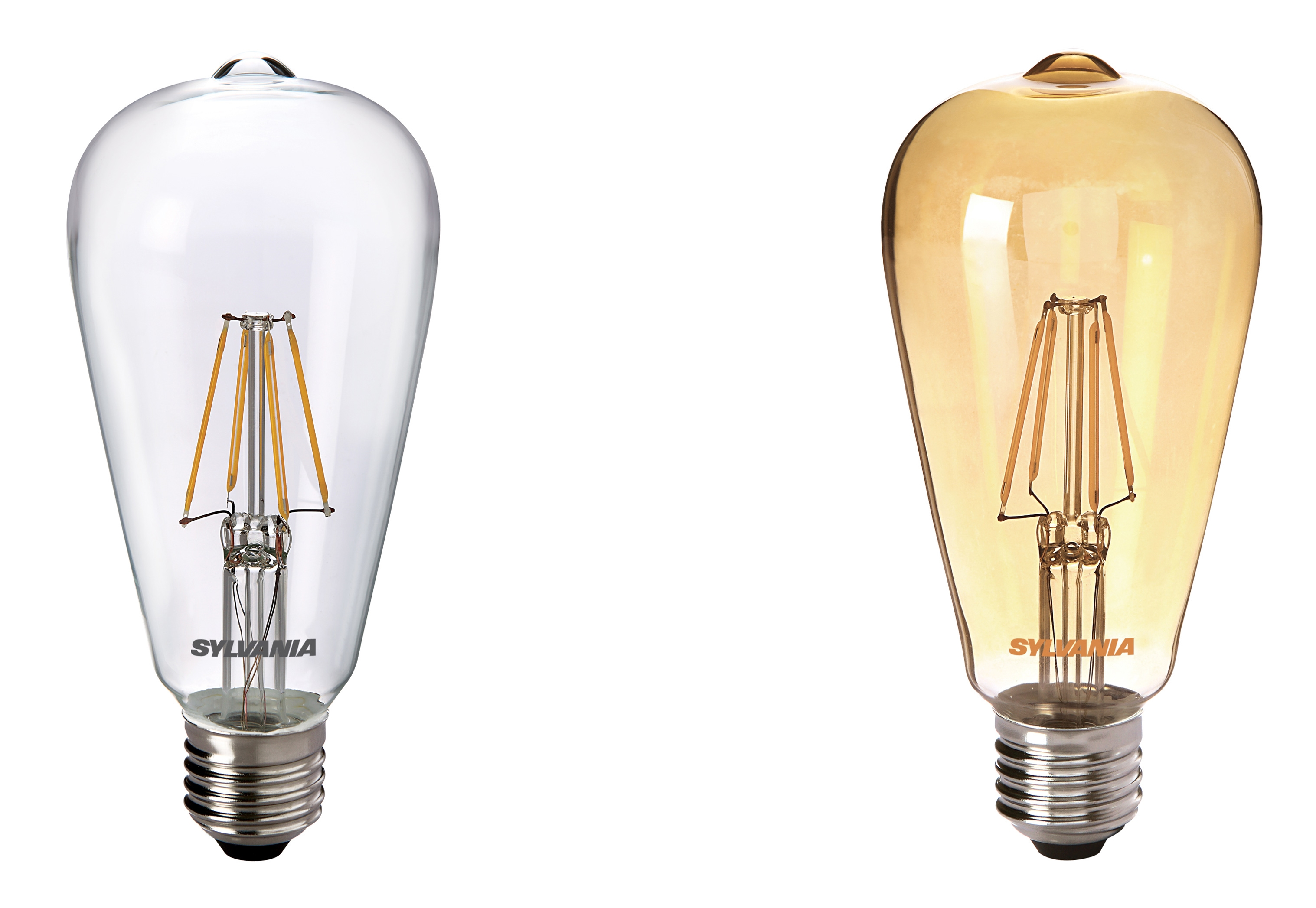 Retro Led E27 Sylvania St64 Non Dimmable Vintage Retro Squirrel Cage 4w
