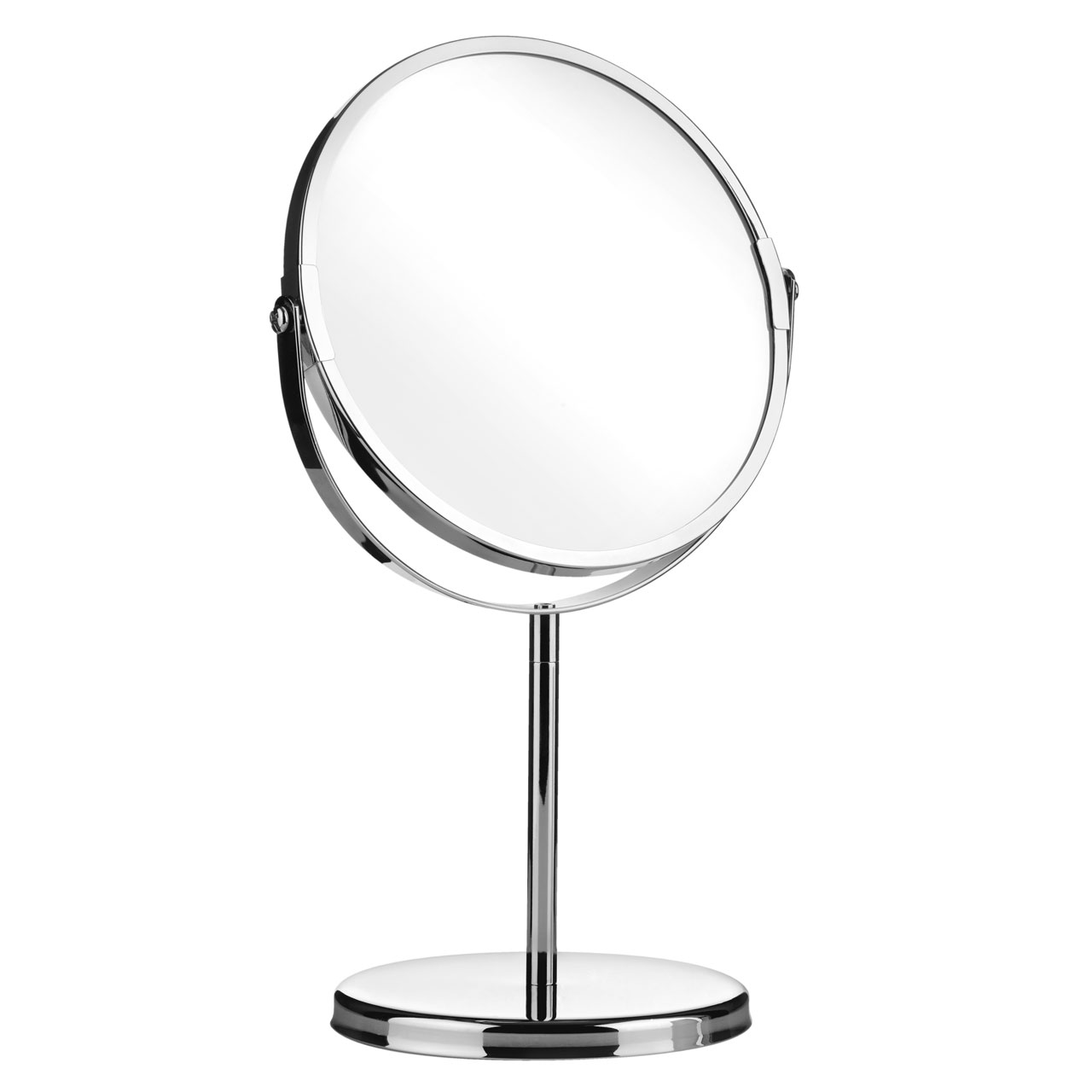 Free Standing Bathroom Mirrors Chrome Effect Free Standing Modern Bathroom Shaving Swivel