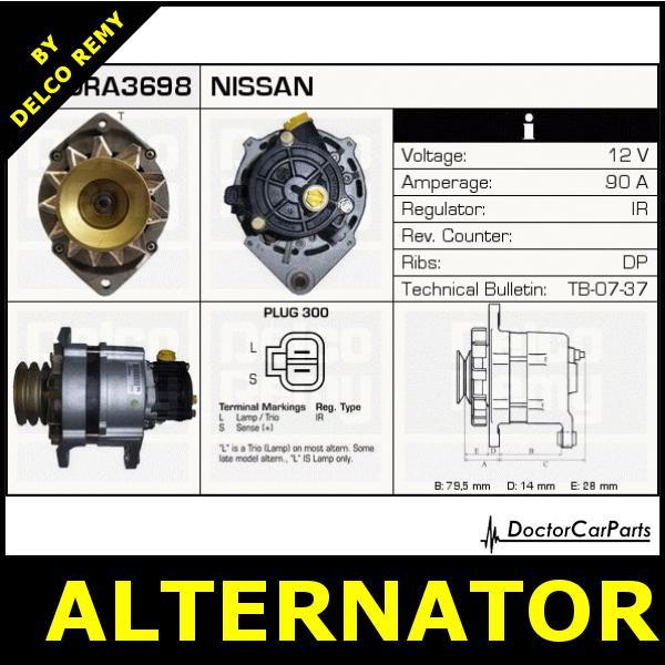 Nissan Vanette Alternator Wiring Diagram Nissan maxima wiring