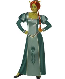 ... -Mens-Licensed-Fancy-Dress-Costume-Princess-Fiona-Ladies-Outfit-M-L