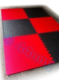 12mm Garage Workshop Machine Flooring Mat Tiles Red Blue ...