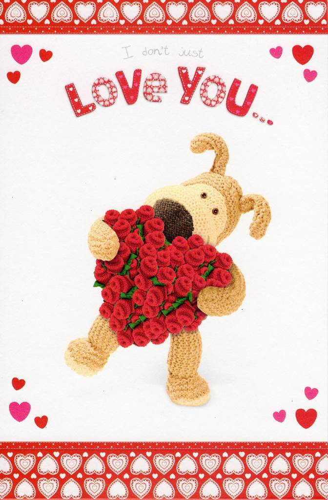 I Love You This Much Pop Out Boofle Valentine\u0027s Card Cards Love