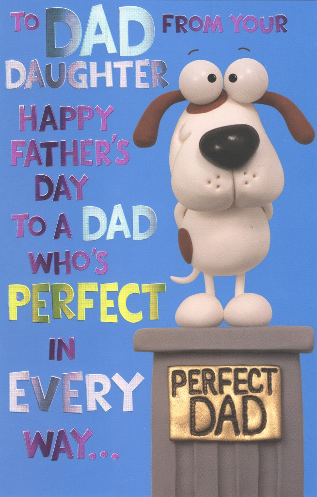 To Dad From Daughter Happy Father\u0027s Day Card Cards Love Kates