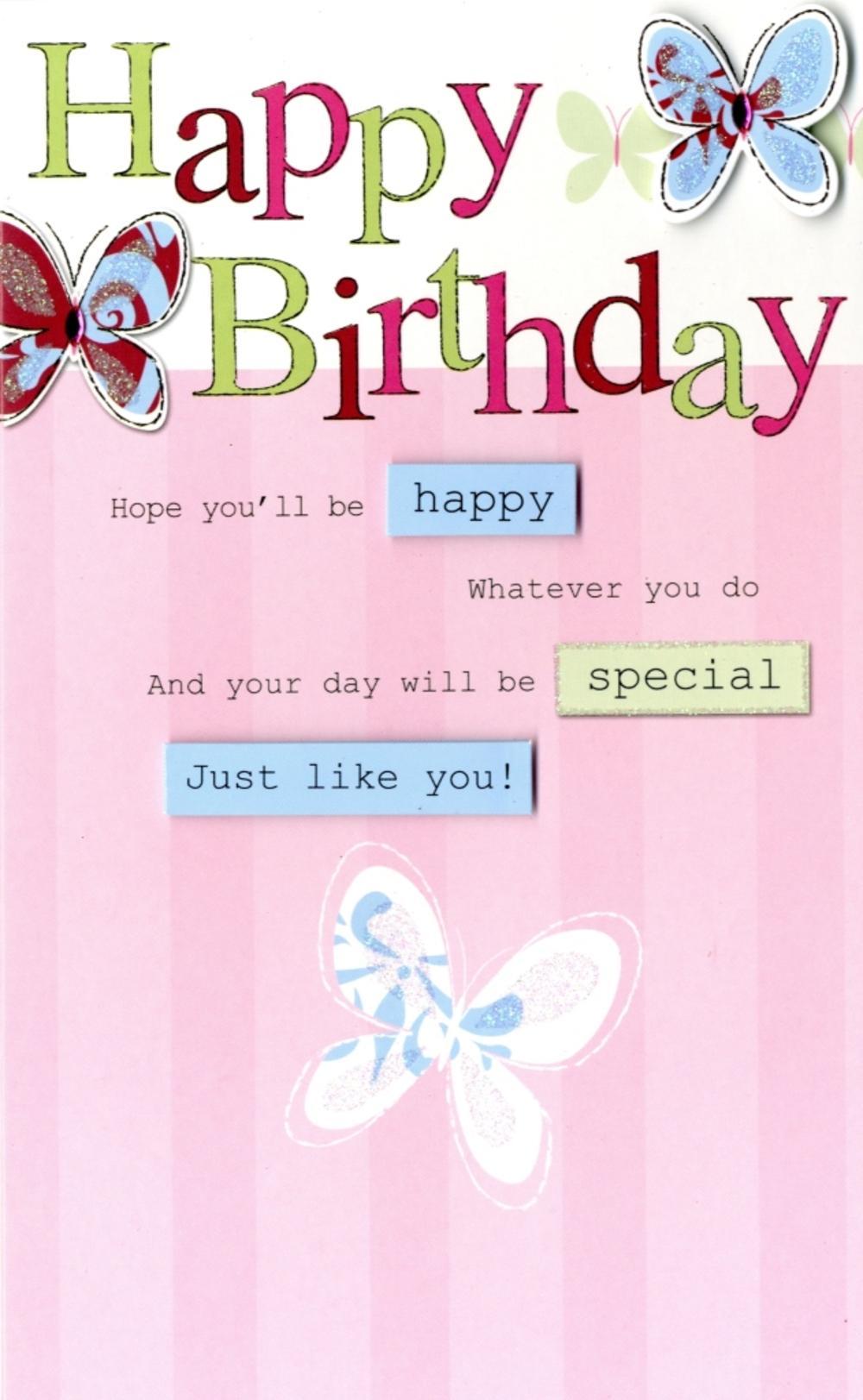 Breathtaking Happy Birthday Butterfly Greeting Card Happy Birthday Butterfly Greeting Card Cards Love Kates Happy Birthday Princess Happy Birthday Girl Spanish gifts Happy Birthday Pretty
