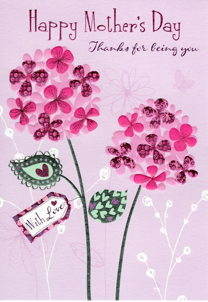 Thanks For Being You Happy Mother\u0027s Day Card Cards Love Kates - mother s day cards