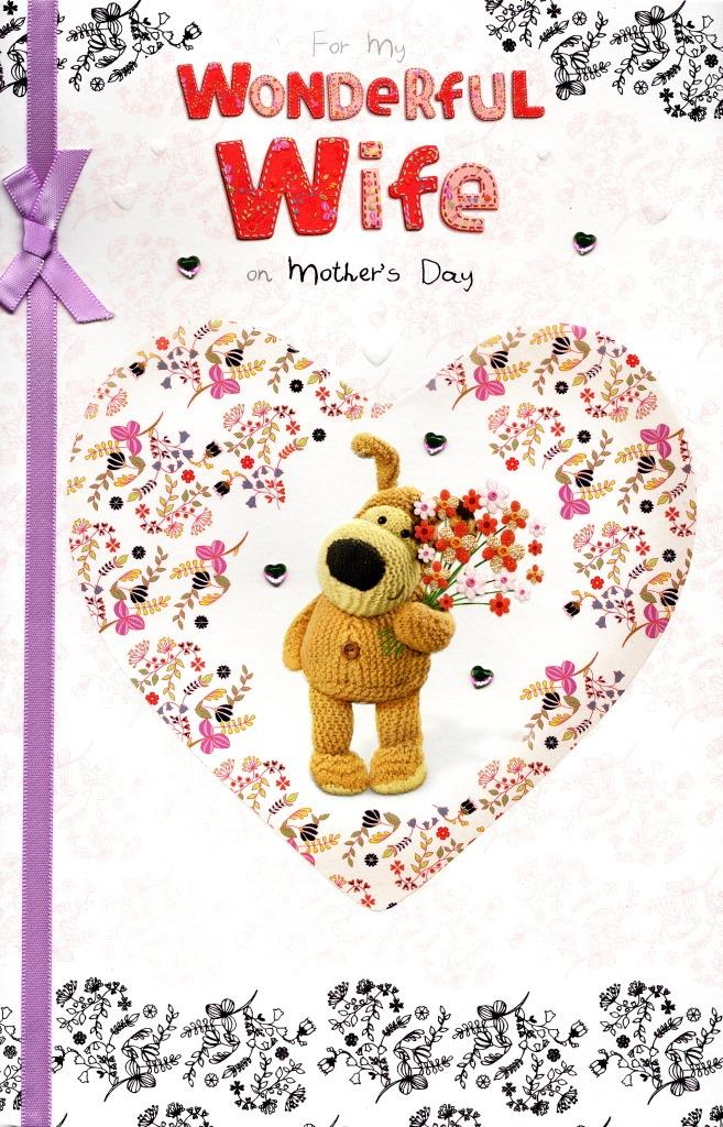 Boofle To My Wife On Mother\u0027s Day Card Cards Love Kates - mother s day cards