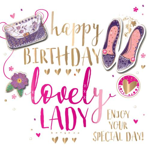 Medium Of Happy Birthday Special Lady