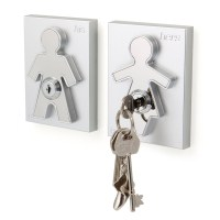 J-me His and Hers Key Holder Wall Mounted Keyholder ...