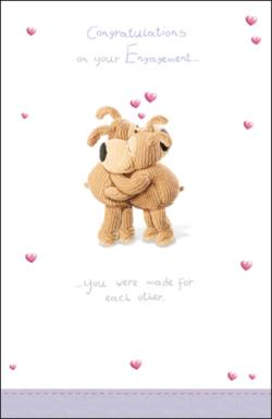 Pleasing Boofle Congratulations Engagement Card Boofle Congratulations Engagement Card Cards Love Kates Congratulations On Your Engagement Letter Congratulations On Your Engagement Gif