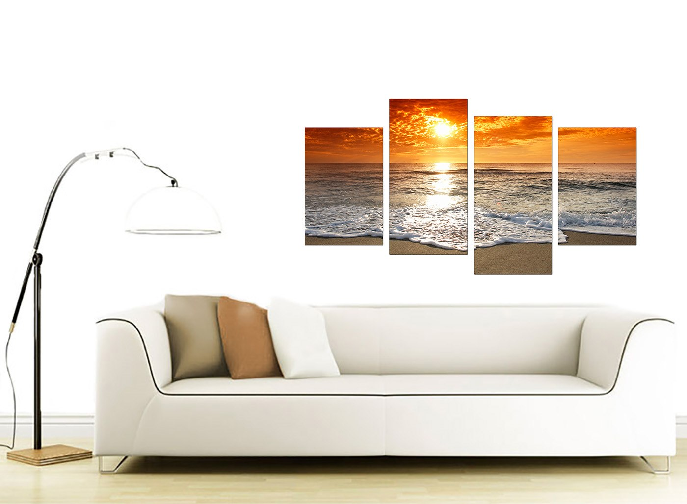 Large Canvas Prints For Living Room Large Sunset Beach Living Room Canvas Wall Art Pictures