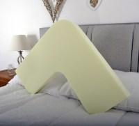 Memory Foam V Shaped Pillow Orthopedic Nursing Pregnancy ...