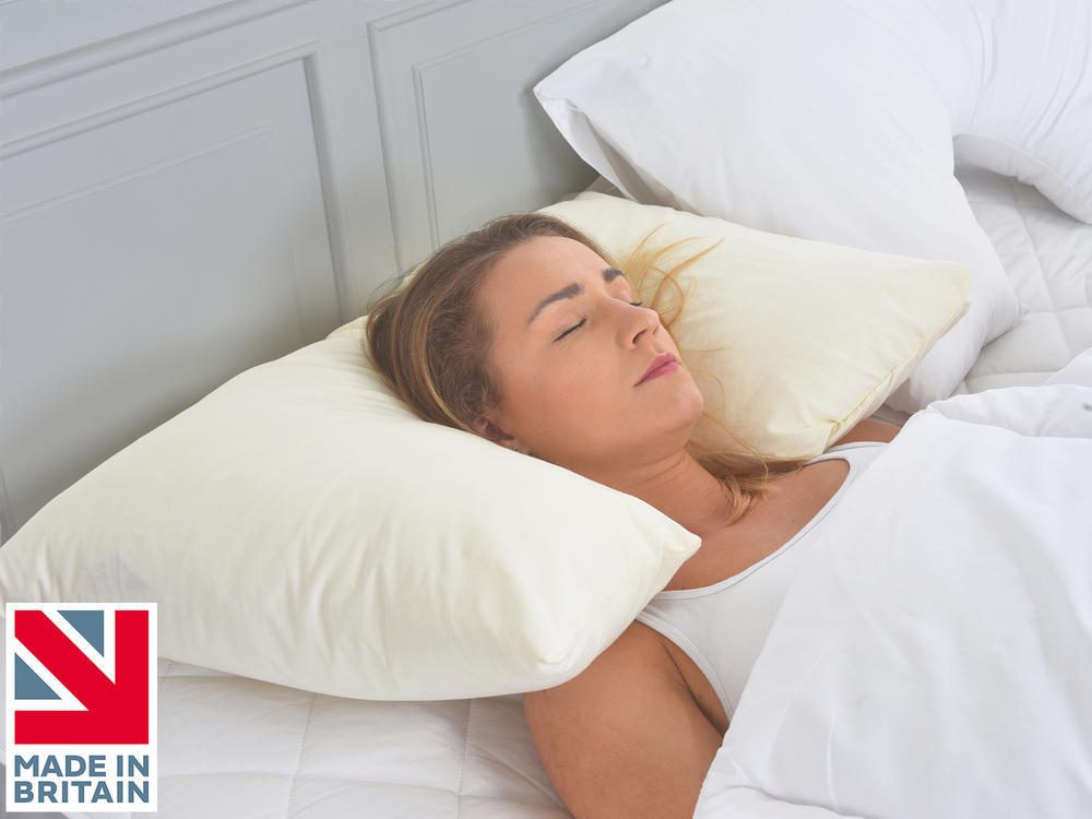 Inset Neck and Head Support Spinal Allignment Side Sleeper