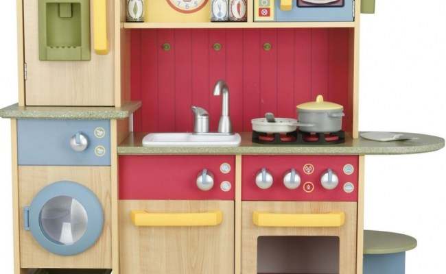 Little Tikes Kids Wooden Play Kitchen Cook Creations Toy