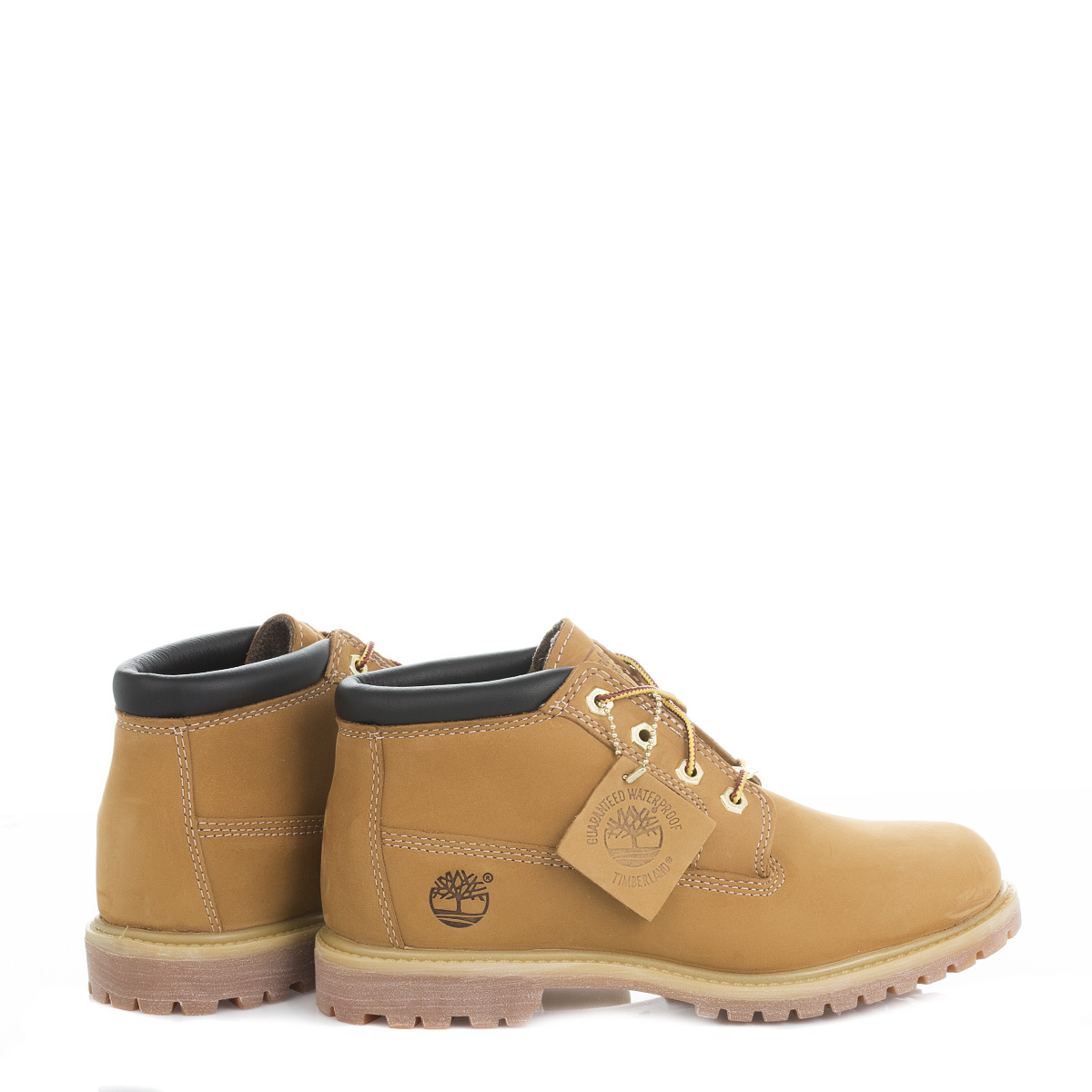 Timberland Womens Ankle Boots Wheat Beige Nellie Nubuck