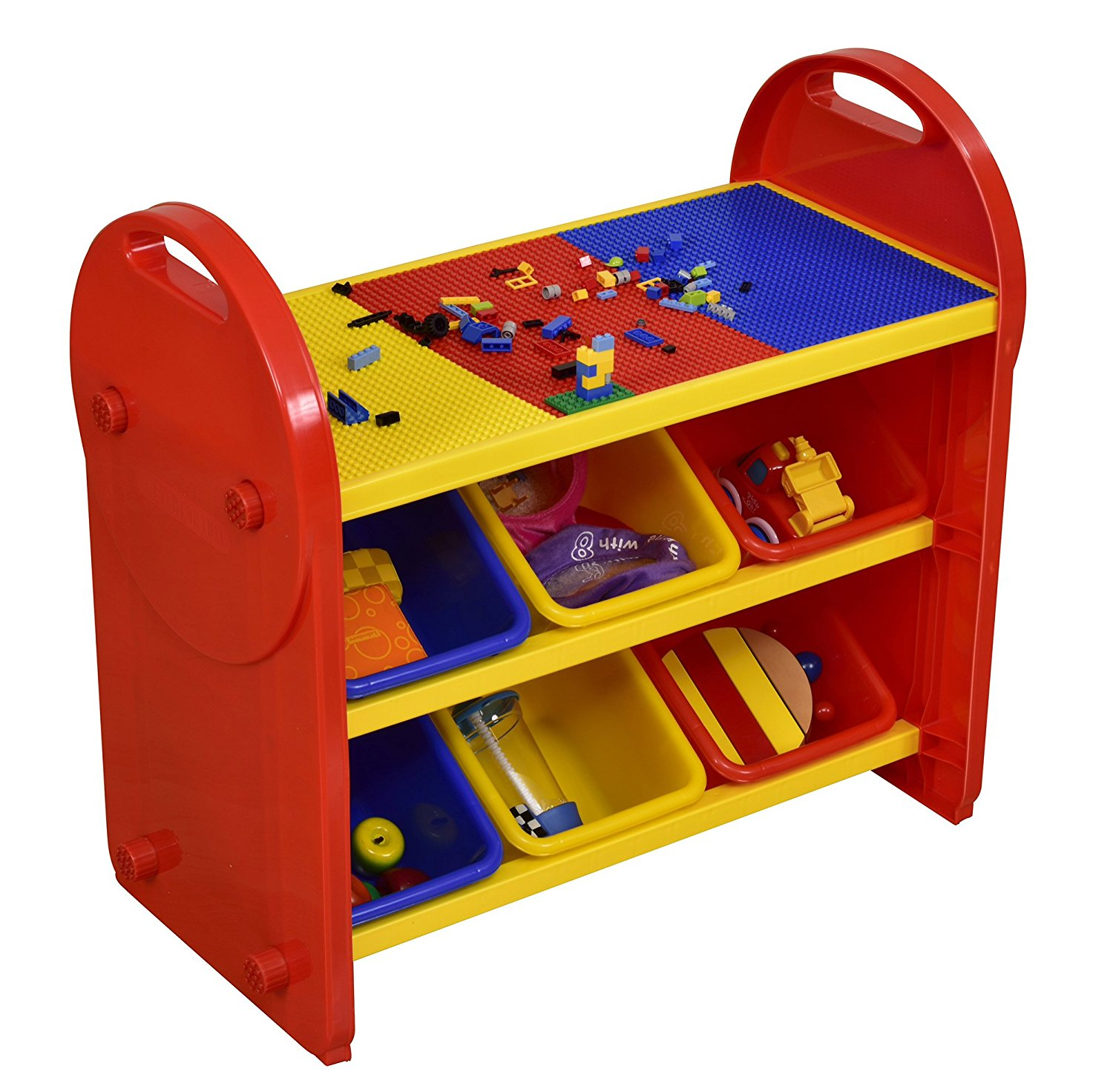 Toy Box Toys Details About Children S Toy Box Kids Storage Organiser Liberty House Toys 6 Bin Toy Organiser