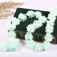 10yds Vintage 3D Flower Lace Trim Fabric Bridal Wedding ...