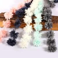 1yd Vintage 3D Flower Lace Trim Fabric Bridal Wedding ...